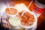 BBQ Plate: Brunswick Stew and Cole Slaw